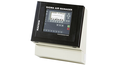 Sigma Air Manager master machine controller from Kaeser Kompressoren.